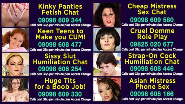Best CHEAPEST 36p Phone Sex Chat